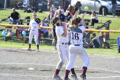 Spaulding vs Mt Abe softball