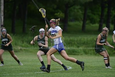 U-32 vs Woodstock girls lacrosse