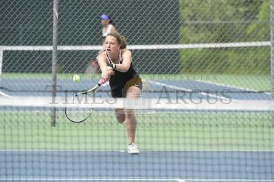 Harwood vs Woodstock girls tennis champs