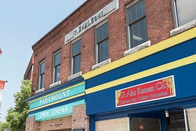The Paramount Theater is seen on Main Street in Barre on Monday.  Josh Kuckens/Staff Photo