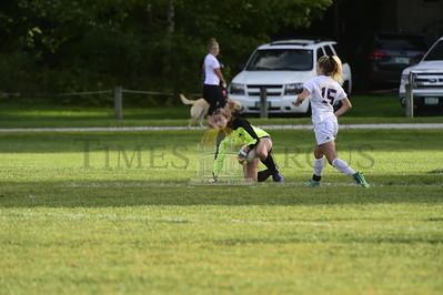 Spaulding vs Milton girls soccer