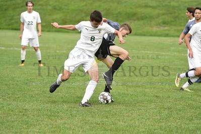 Exit 5 vs Stowe boys soccer