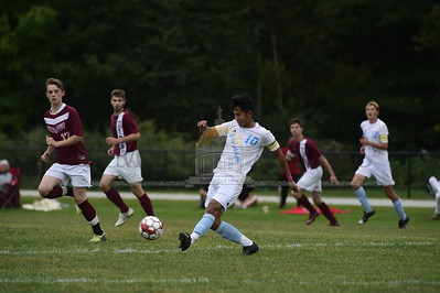 Spaulding vs South Burlington boys soccer