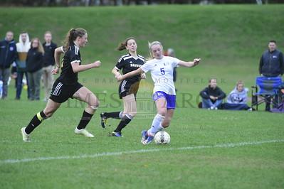 Harwood vs U-32 girls soccer