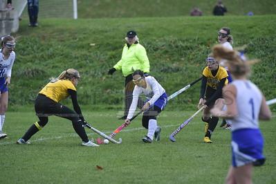 U32 vs Harwood field hockey playoff