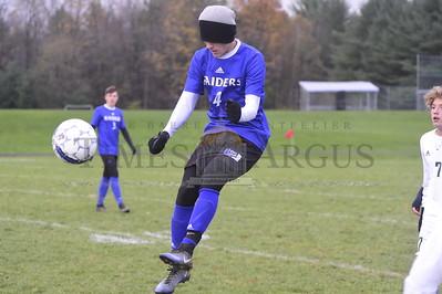 U-32 vs Montpelier boys soccer playoff