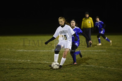 U-32 vs Montpelier girls soccer playoff