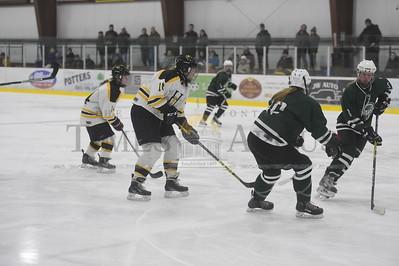 Harwood vs Rice girls hockey