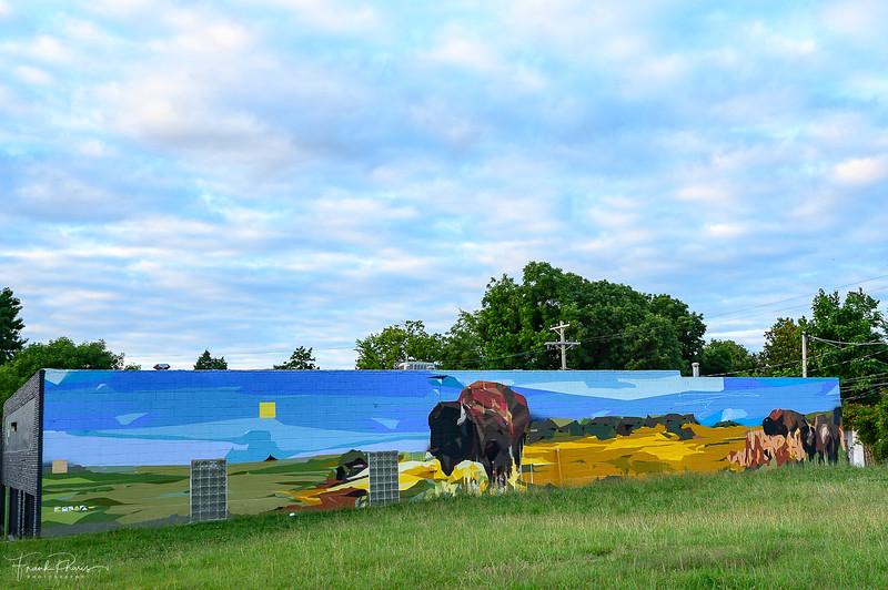 August 25, 2019 -- Tall Grass Prairie Mural