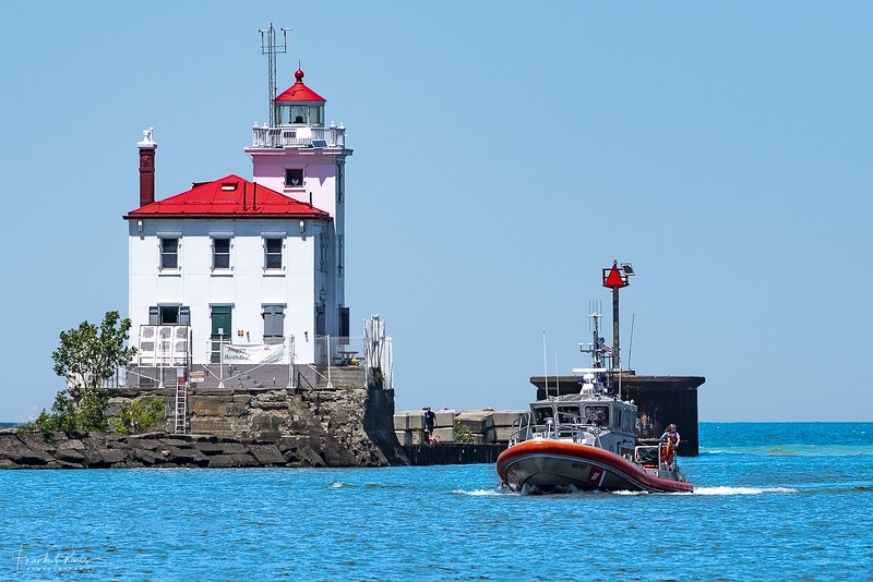 September 23, 2019 -- Fairport Light