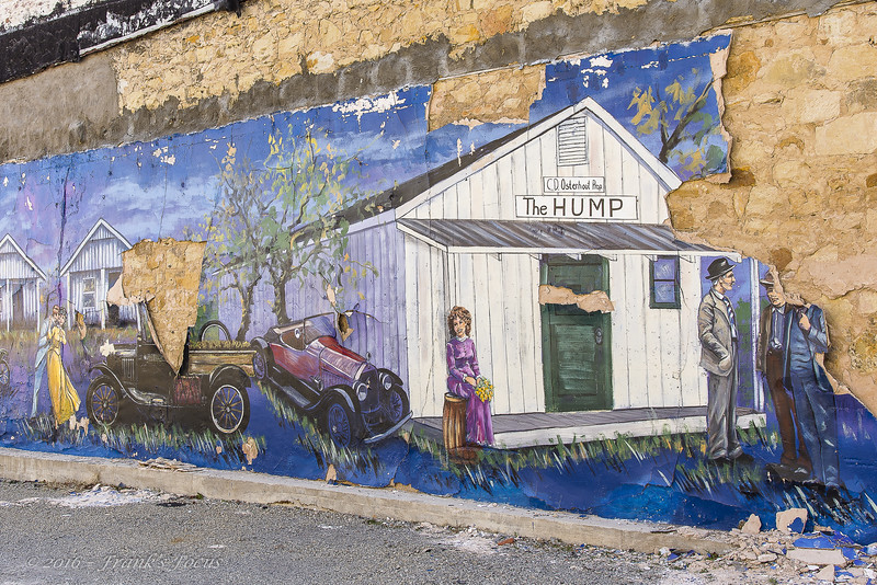 May 9, 2019 -- Peeling Mural