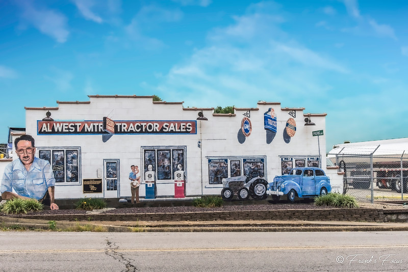 July 17, 2019 -- Tractor Sales Mural