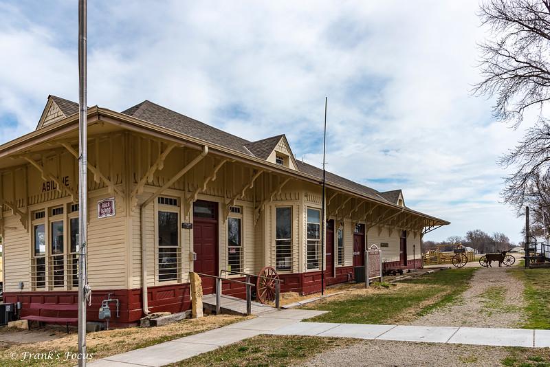 September 17, 2019 -- Rock Island Line Depot
