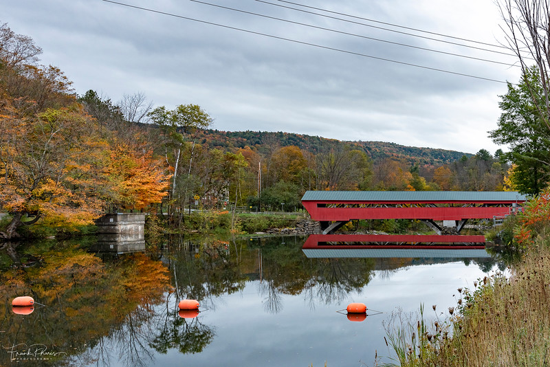 October 26, 2019 -- Taftsville Covered Bridge