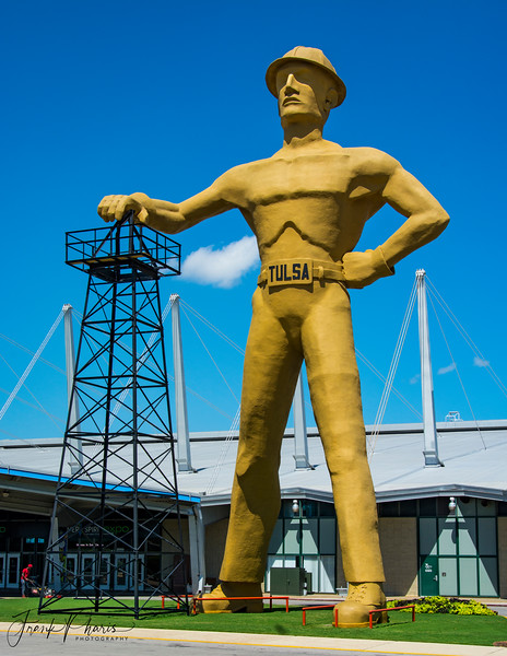 February 27, 2019 -- Tulsa's Golden Driller