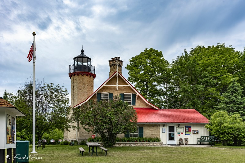 March 16, 2019 -- McGulpin Point Lighthouse