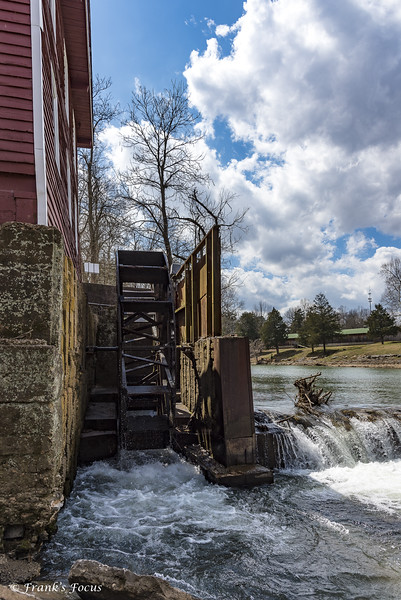 May 11, 2019 -- Water Wheel