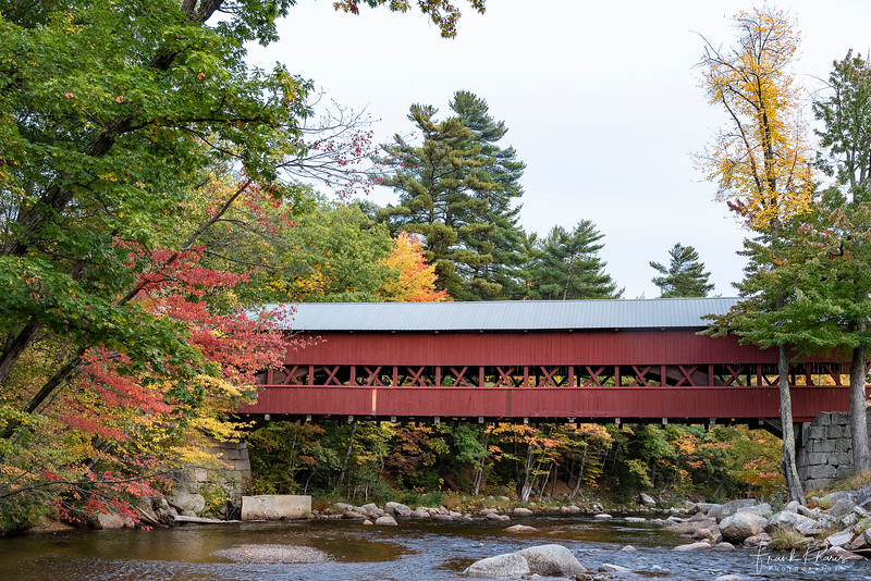 November 14, 2019 -- Swift River Covered Bridge