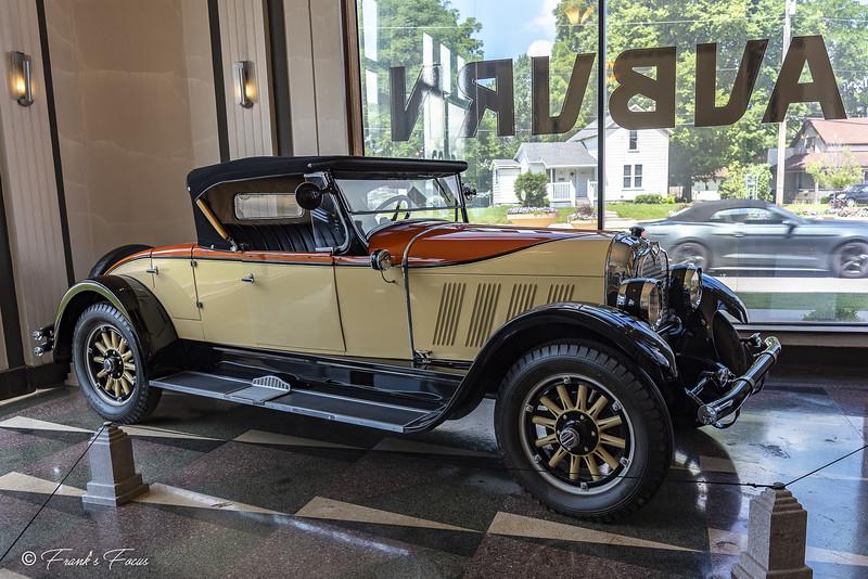 September 11, 2019 -- 1926 Auburn 8-88