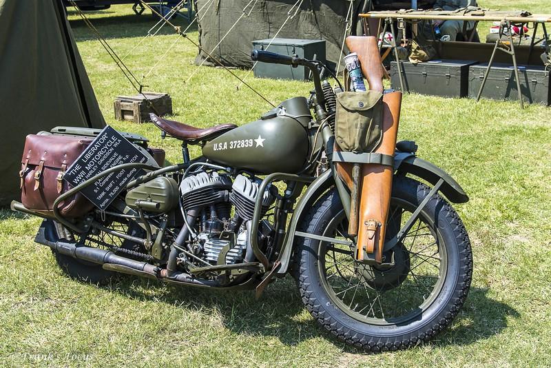 """March 3, 2019 -- 1942 Harley Davidson WLA """"Liberator"""""""