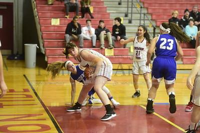 Spaulding vs U-32 girls basketball 2019
