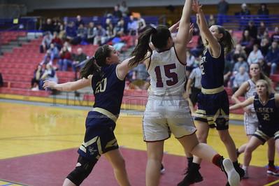 Spaulding vs Essex girls basketball