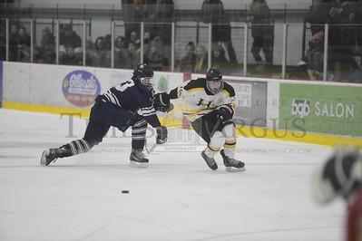 Harwood vs Burlington boys hockey