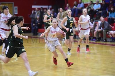 Twinfield vs Green Mountain girls basketball