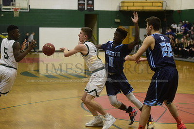 Montpelier vs Randolph boys basketball 2019