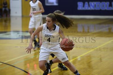 Randolph vs Lamoille girls basketball
