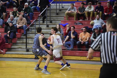 Spaulding vs South Burlington boys basketball