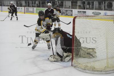 Harwood vs Lyndon girls hockey