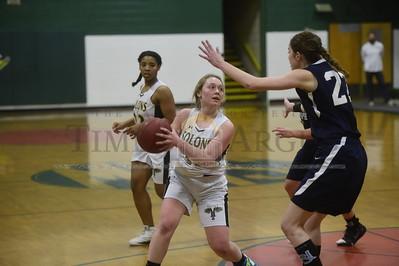 Montpelier vs Randolph girls basketball