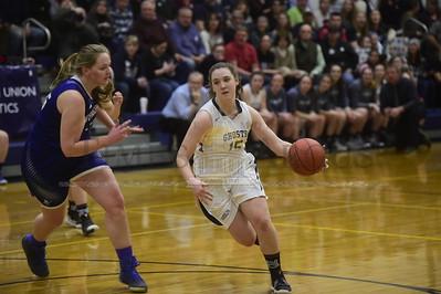 Randolph vs Vergennes girls basketball