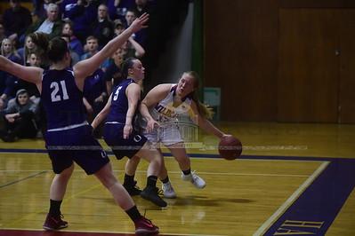 Hazen vs Oxbow girls basketball