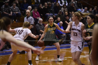West Rutland vs Proctor Girls Basketball