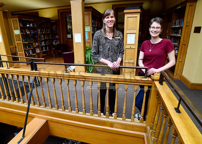 Jessie Lynn, left, and Carolyn Brennan have been named new co-directors of the Kellogg-Hubbard Library in Montpelier.