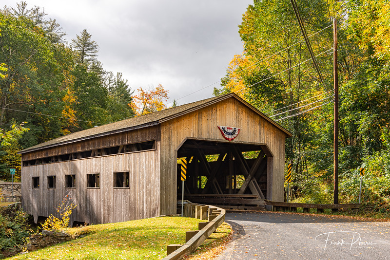 February 21, 2020 -- Bissell Covered Bridge