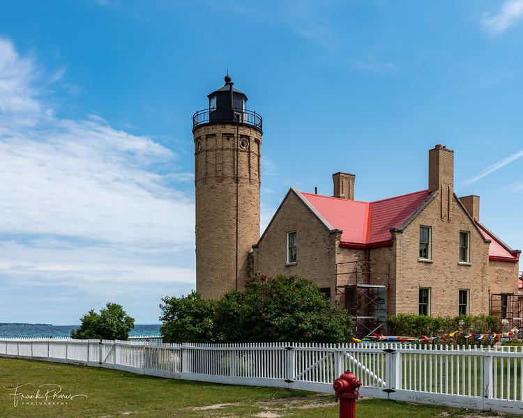 February 8, 2020 -- Old Mackinac Point Lighthouse
