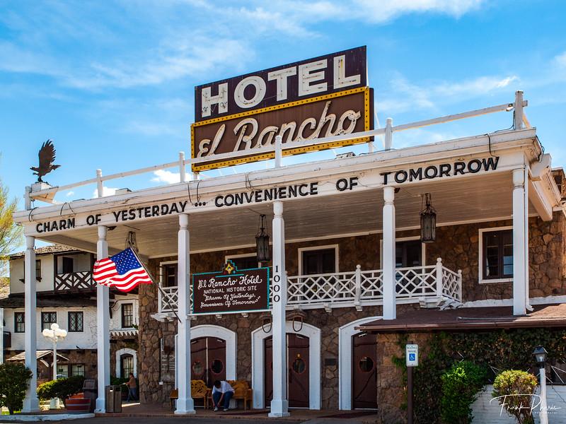 June 23, 2020 -- El Rancho Hotel