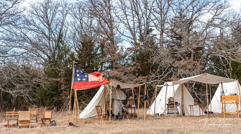 March 18, 2020 -- Confederate Encampment