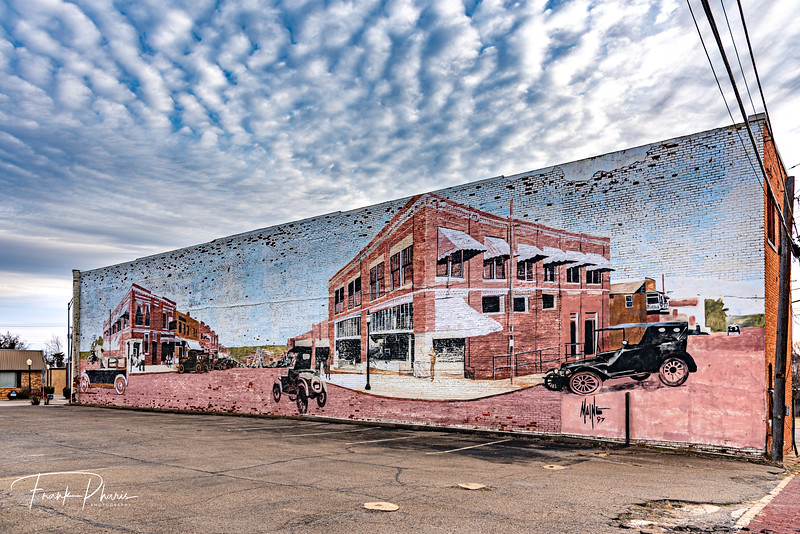 March 19, 2020 - Drumright Mural