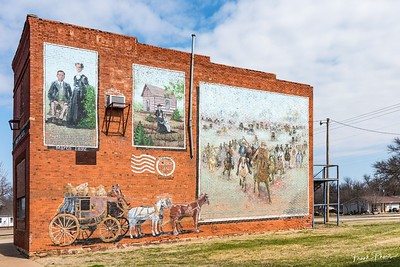 May 28, 2020 -- Tallest Mural on Route 66