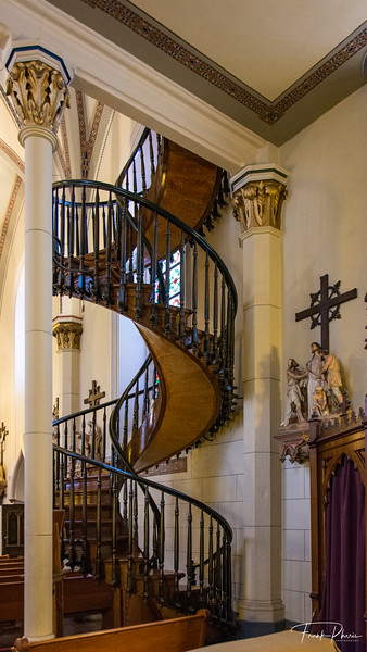 June 15, 202 -- The Miracle at Loretto Chapel