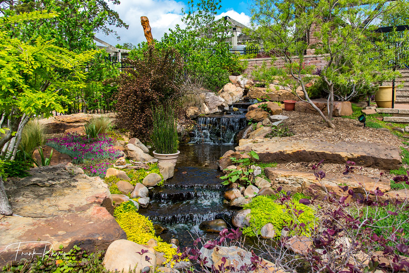 March 2, 2020 -- Water Feature