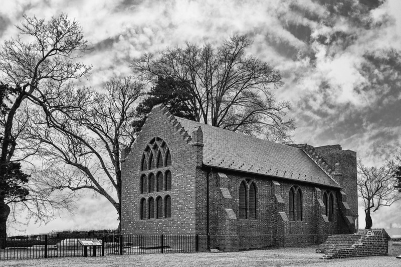 Old Jamestown Church