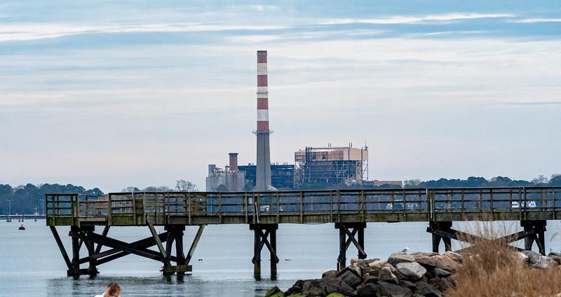 Refinery & Pier