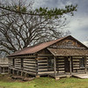 January 16, 2021 -- Baxter County Log Cabin (Arkansas)