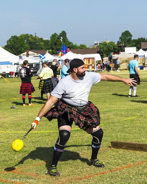 April 6, 2021 -- Scottish Hammer Throw
