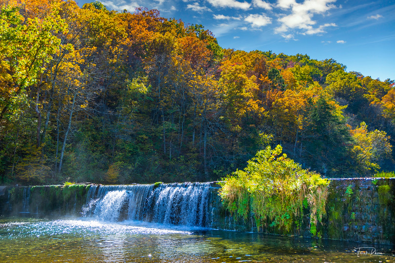 March 20, 2021 -- Autumn Waterfall